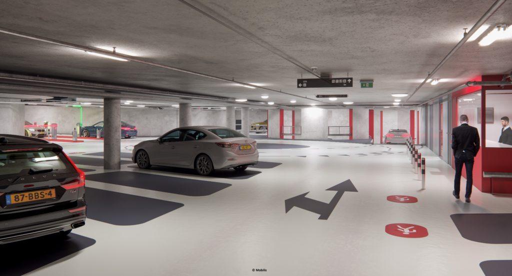 Interieur Singelgrachtgarage-Marnix
