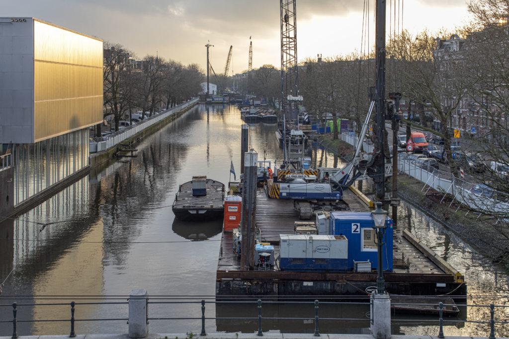 Bouwwerkzaamheden Singelgrachtgarage-Marnix.